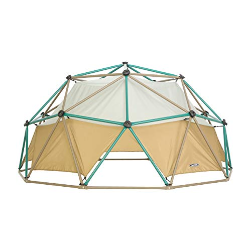 Lifetime Products Geometric Dome Climber with Attachable Canopy, Earth Tone, 10' Wide x 5' High ()