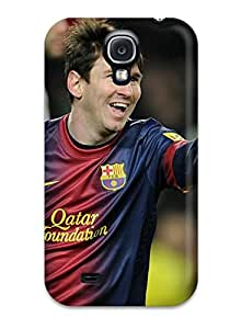 Shock-dirt Proof Lionel Messi Football Case Cover For Galaxy S4