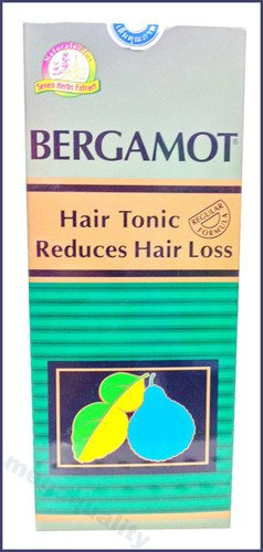 Bergamot Hair Tonic Regular Formula for Beginning Hair Loss 100 Ml. Made From Thailand
