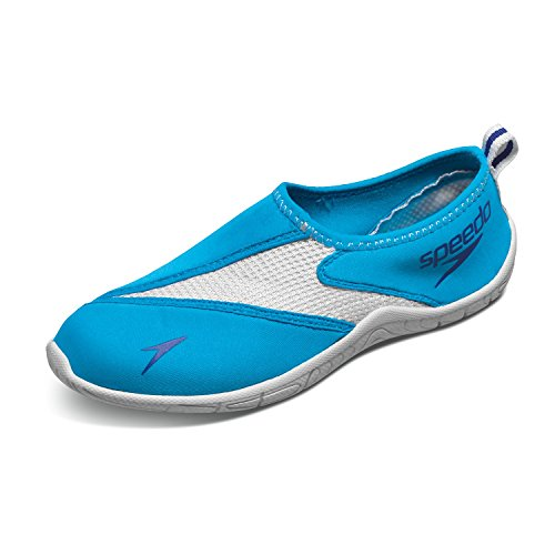 Speedo Women's Women's Surfwalker Pro 3.0 Water Shoes Blue 10 & Sunscreen
