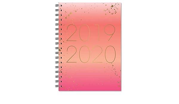 Agenda escolar semanal de 2019-2020, tamaño A5, encuadernada ...