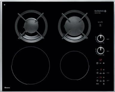 Dedietrich DTI702X - De Dietrich DTI702X - Table de cuisson mixte induction  et gaz - 4 2757204d0d02