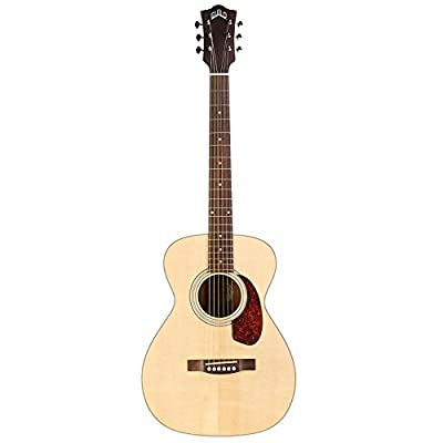 Guild M-240E Acoustic-Electric Guitar in Natural