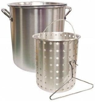 Camp Chef 42 Quart Aluminum Fry Pot & Cooking Basket