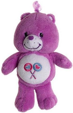 "B00026FWGY Care Bears Share Bear Plush Rattle 10\"" Tall 41HXVCQ10WL"