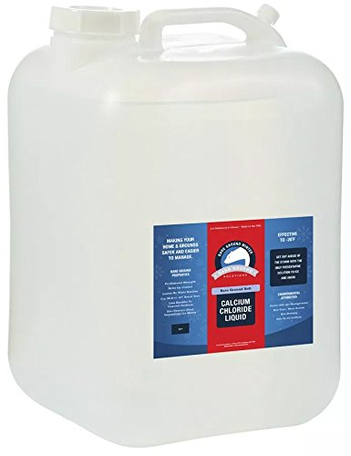 Bare Ground Bolt BGB-5C Fast-Acting CaCl2 Ice Melt Liquid for All Surfaces, 640 oz (5 Gallons) by Bare Ground