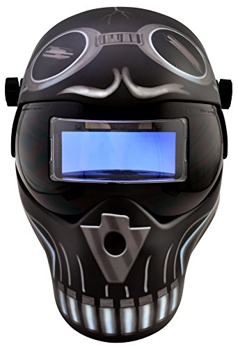 Save Phace – Careta 3012466 I Series SES100ML Skeletor casco de soldadura de Oscurecimiento Automático
