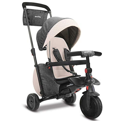 - smarTrike Smartfold Folding Baby Tricycle, Gray