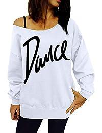 Women CBTLVSN Womens Casual Fuzzy Loose Fit Crop Tops Fleece Hoodies Pullover Sweatshirts