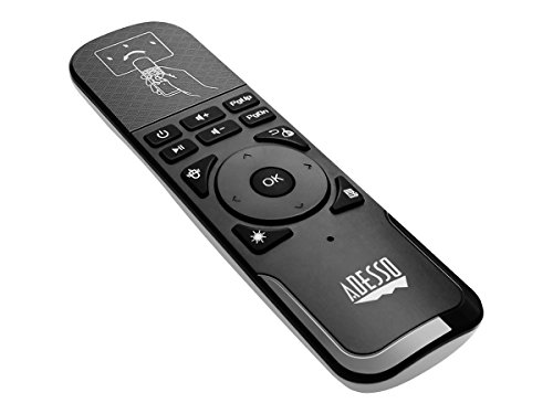Adesso WKB4010UB Wireless Mouse Remote