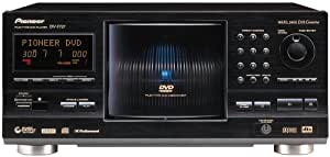 Pioneer DV-F727 301 Disc DVD / CD / CD-R/ and RW Player