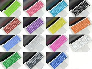Inovat Pack of 15 Colors Keyboard Silicone Cover Skin for MacBook Pro 13 15 17 Aluminum Unibody