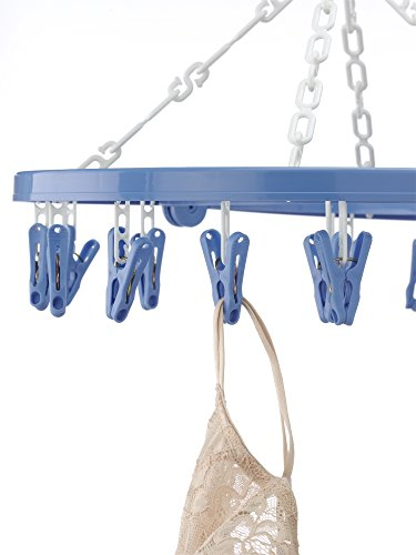 Whitmor Clip and Drip Hanger with 16 Clips