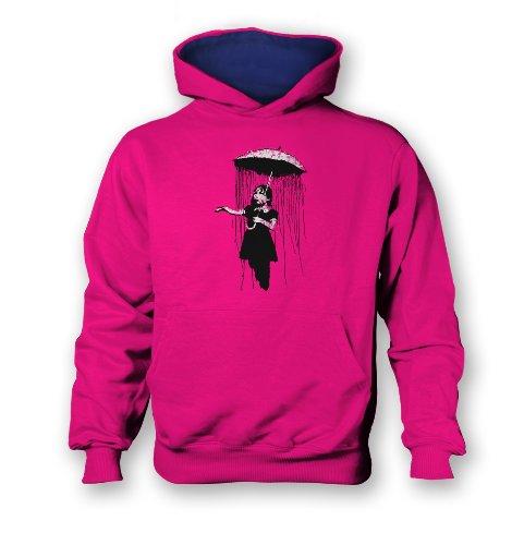 Hothead Wide Brim Sun Visor Hat in Graffiti with Pink Denim ... c035cc422ca1