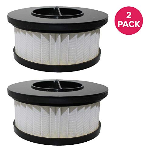 Think Crucial 2 Replacements for Eureka DCF-19 Filter Fits Boss Whirlwind Lite 450 Series Upright, Compatible with Part # 63950, 78984-1 & 789841, Washable & Reusable