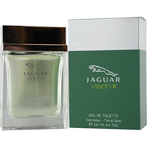 - Jaguar Vision II Eau De Toilette Spray for Men, 3.4 Ounce