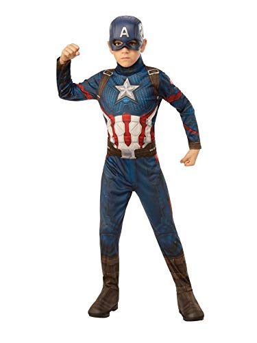 Rubie's Marvel: Avengers Endgame Child's Captain America Costume & Mask, Small