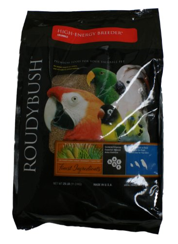 Roudybush High Energy Breeder Bird Food, Crumble, - Breeder Energy Roudybush High