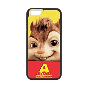 IPhone 6 Plus 5.5 Inch Shell Phone Case for Classic Theme Alvin and the chipmunks comic Cartoon pattern design GAATC193322