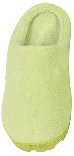 Luxehome Womens Coral Sliece House Slipper (1-02) Verde