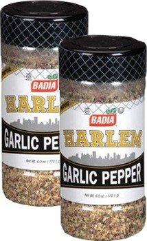Badia Harlem Garlic Pepper 6 oz Pack of 2