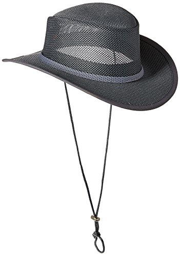 (Stetson Men's Mesh Covered Hat, Charcoal, Xxl )
