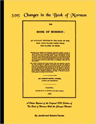 Image result for tanners book of mormon