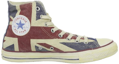 Converse Ct Print Hi, Herren Sneakers uk-flagge