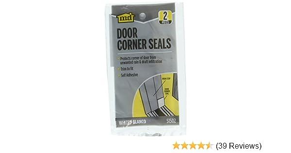 M D Door Corner Seals White 2 Pack Amazon