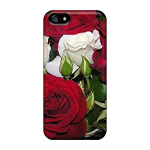 First-class Cases Covers For Iphone 5/5s Dual Protection Covers The Scent Of Roses