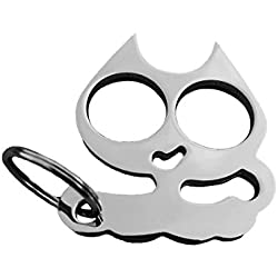 REDIGARD Cartoon Cat Decorative Key Chain and Key Ring (Silver)