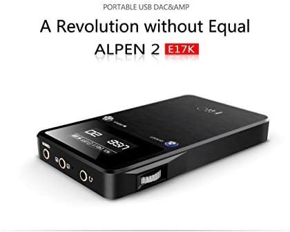 FiiO E17 K ALPEN 2 USB DAC amplificador de auriculares: Amazon.es ...