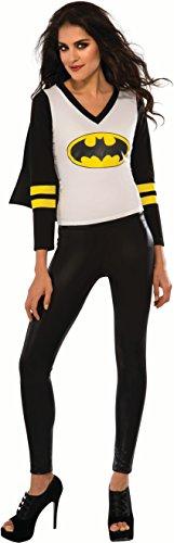Rubie's Women's DC Superheroes Batgirl Sporty Tee, Multi, Small -