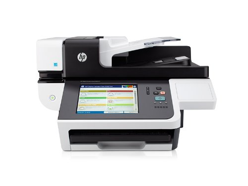 HP Digital Sender Flow 8500 fn1 OCR Document Capture Work...