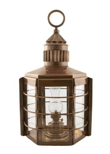 Vermont Lanterns Brass Clipper - Nautical Ship Lamp (22'', Antique Brass) by Vermont Lanterns (Image #3)