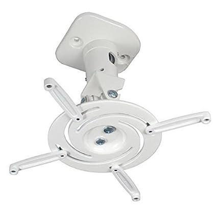Duramex Projector Mount - Universal Ceiling Bracket LCD DLP Tilt 360° Swivel Black DIGIPARTS 80-042