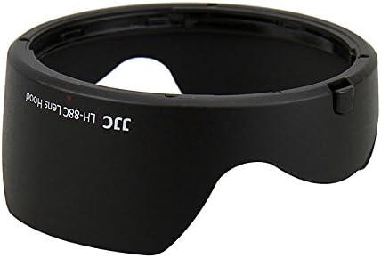 JJC LH-88C Lens Hood Shade for Canon EF 24-70mm f//2.8L II USM Zoom Lens Replace EW-88C