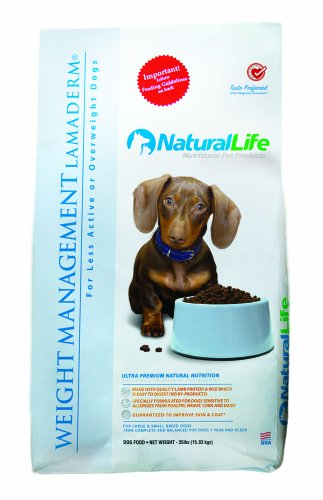 Natural Life Pet Products Wgt Management Ld, 20-Pound Bags