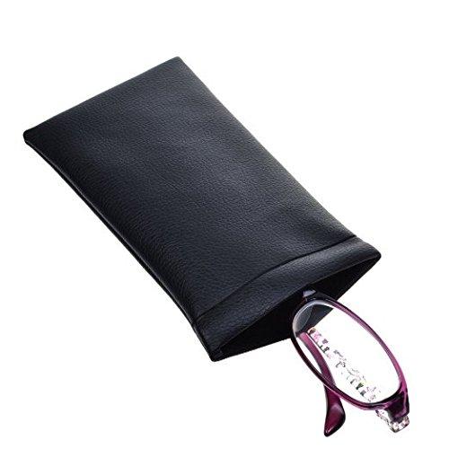Cosmos Leather Eyeglass Holder Sleeve