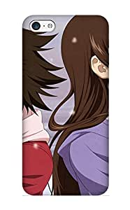 New Tolmvv-1801-syiuvot Anime Unknown True Tears Skin Case Cover Shatterproof Case For Iphone 5c