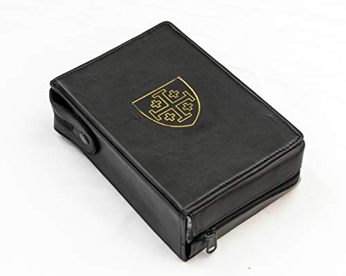 Jerusalem Cover - mds Real Leather Breviary Cover- Jerusalem Cross