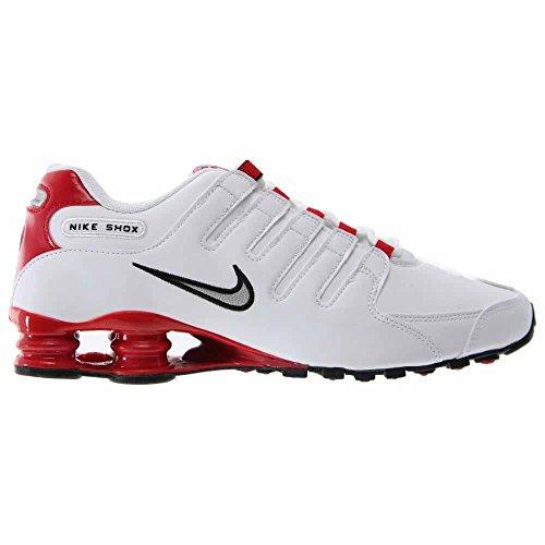 Nike Menns Shox Nz Sl Joggesko Hvite