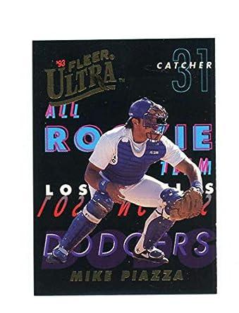 Amazoncom 1993 Fleer Ultra All Rookie Team 7 Mike Piazza Rookie