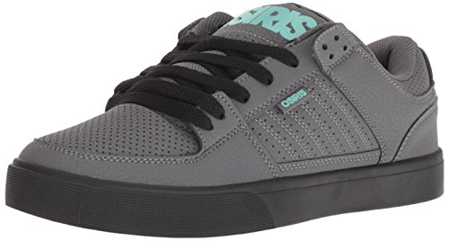 Osiris Men's Protocol Skate Shoe, Grey/Black/Opal, 8.5 M US