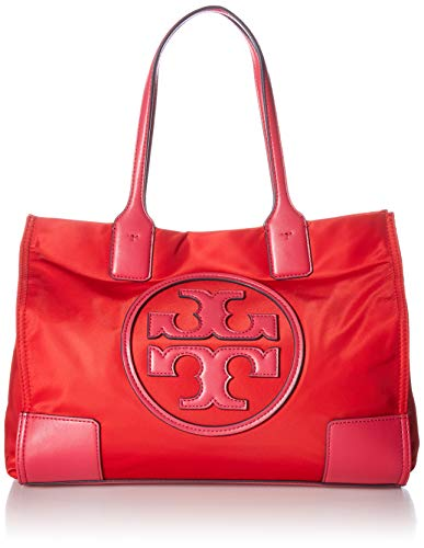 (Tory Burch Ella Color-Block Mini Tote)
