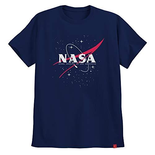 Camiseta Nasa Geek Astronomia Camisa Masculina Aeronautics XG