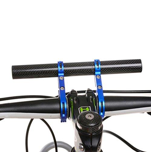 - Mchoice Bike Flashlight Holder Handle Bar Bicycle Accessories Extender Mount Bracket (Blue)