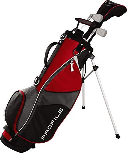 (Wilson Golf Profile JGI Junior Complete Golf Set - Small, Red, Right Hand )