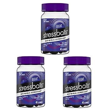 Amazon com: Stressballs Night Sleep Vitamins Gummy! 46