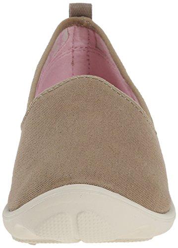 Crocs Día Ocupado el Zapato de Lona Khaki/Stucco